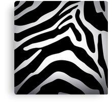 Zebra texture Canvas Print