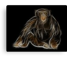 Monkey - Chinese Zodiac by Liane Pinel Canvas Print
