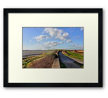 A Walk by the Thames Framed Print