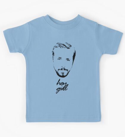 Ryan Gosling Hey Girl Kids Tee
