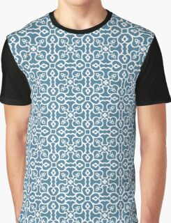 Seamless floral tiling pattern Graphic T-Shirt