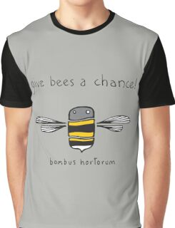 Give bees a chance! Graphic T-Shirt