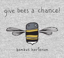 Give bees a chance! One Piece - Long Sleeve