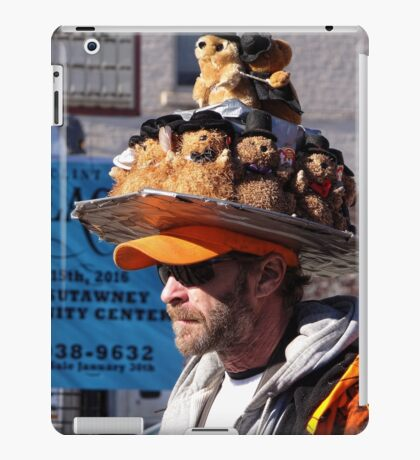 Groundhog gathering iPad Case/Skin