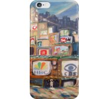 TOWER OF CABLE iPhone Case/Skin