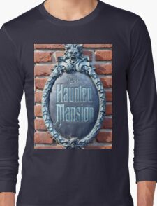 The Haunted Mansion Long Sleeve T-Shirt