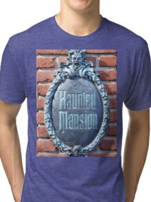 The Haunted Mansion Tri-blend T-Shirt