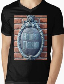 The Haunted Mansion Mens V-Neck T-Shirt