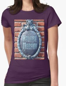 The Haunted Mansion Womens Fitted T-Shirt