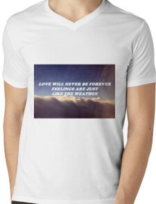LHC  Mens V-Neck T-Shirt