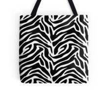 Wild zebra Tote Bag