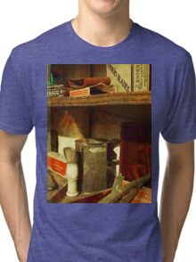 Shaving Brush Tri-blend T-Shirt