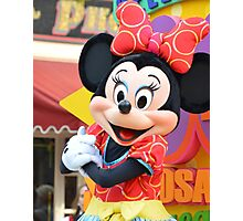 Minnie Mouse Photographic Print