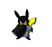 Batchu --- Pikachu as Batman by mattwilldo