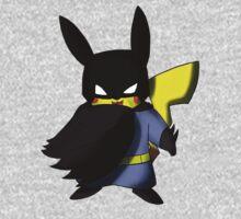 Batchu --- Pikachu as Batman Kids Tee