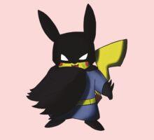 Batchu --- Pikachu as Batman One Piece - Long Sleeve