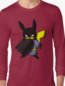 Batchu --- Pikachu as Batman Long Sleeve T-Shirt