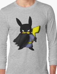 Batchu --- Pikachu as Batman Long Sleeve T-Shirt