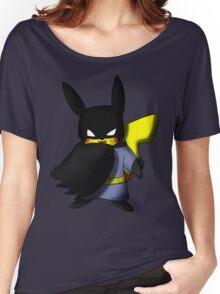 Batchu --- Pikachu as Batman Women's Relaxed Fit T-Shirt