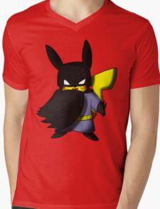 Batchu --- Pikachu as Batman Mens V-Neck T-Shirt