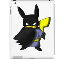 Batchu --- Pikachu as Batman iPad Case/Skin