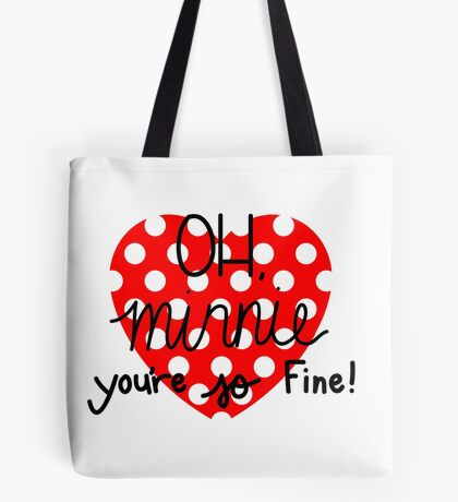 OH, Minnie! Tote Bag