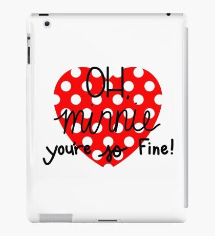 OH, Minnie! iPad Case/Skin