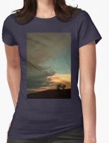 Landscape - sunrise Womens Fitted T-Shirt