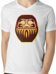 daruma Mens V-Neck T-Shirt