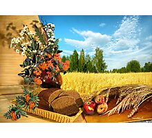 The bread that came down from heaven ... Photographic Print