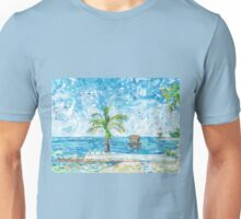 South Malé Sandbarge Unisex T-Shirt