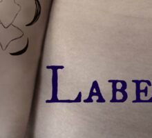 Labellum Sticker
