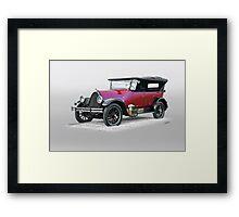 1922 Franklin Open Touring Sedan Framed Print