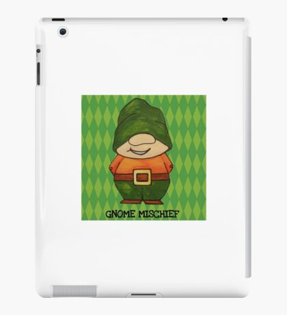 Gnome Mischief (Sneaky3) iPad Case/Skin