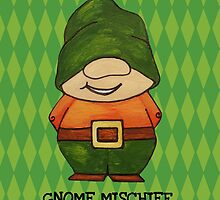 Gnome Mischief (Sneaky3) by amberelladesign