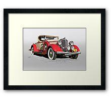 1934 Chrysler Roadster Framed Print