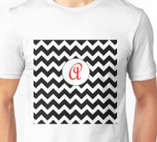 Red A Chevron Unisex T-Shirt