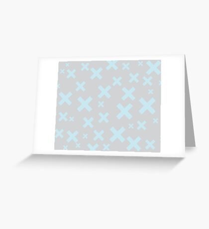 Multiply Blue Dove Greeting Card