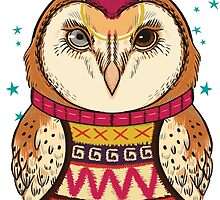 Bowie Owl by dormaeus