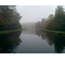 Foggy Canal Photographic Print