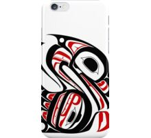 Gitxsan Swan traditional design iPhone Case/Skin