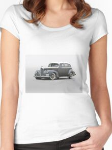 1941 Packard 120 Sedan Women's Fitted Scoop T-Shirt
