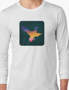 Sunset Duck Hunt Long Sleeve T-Shirt