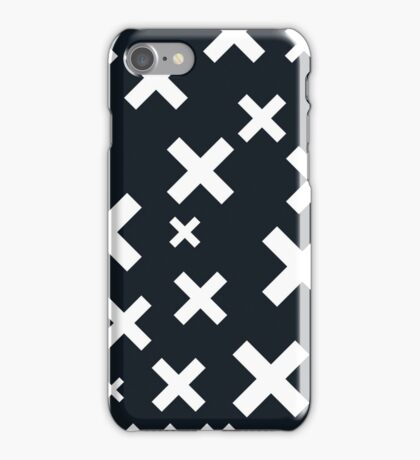 Multiply White & Black iPhone Case/Skin