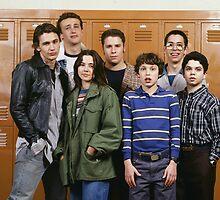 Freaks and Geeks Cast  by oddodalys