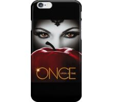 Once Upon a Time, Red Apple, OUAT, Regina, season 2, evil queen iPhone Case/Skin