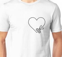 Cut My Heart Out Unisex T-Shirt