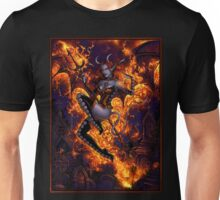Fire of Halloween Unisex T-Shirt