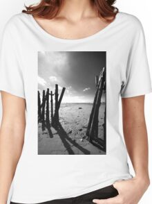 Old Fishing Harbour Women's Relaxed Fit T-Shirt