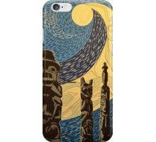 Moonlit Totems iPhone Case/Skin